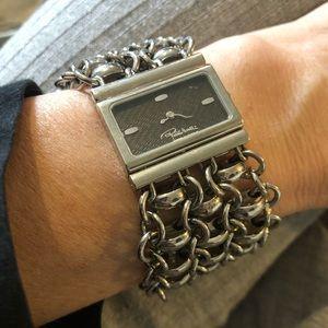 Roberto Cavalli stainless bracelet watch